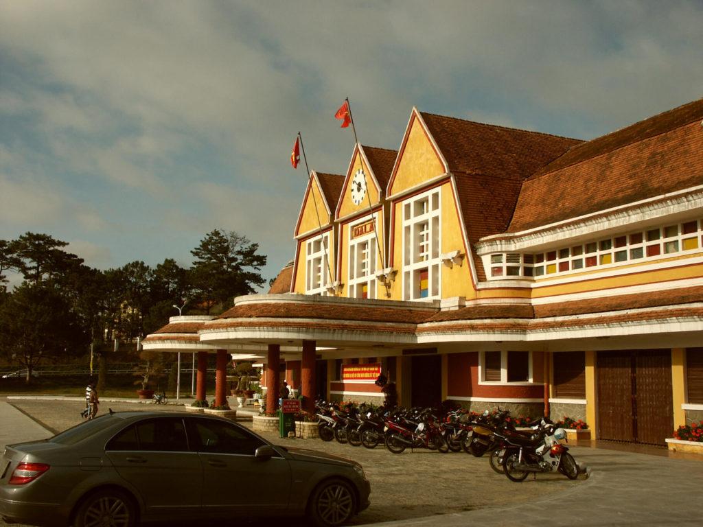 Gelber Bahnhof von Da Lat