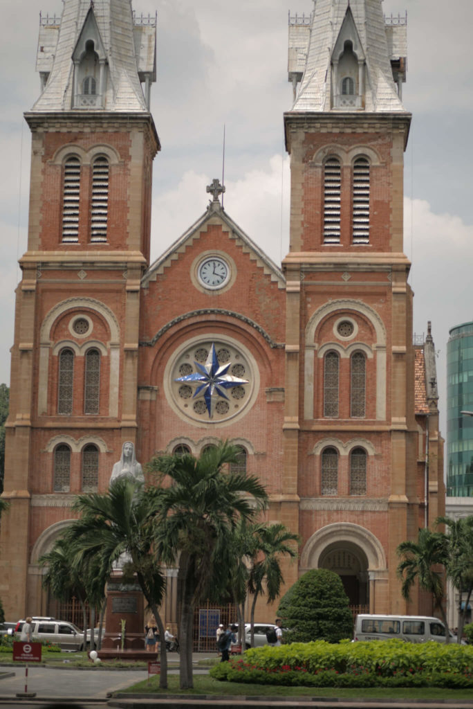 Kathedrale Notre Dame von Saigon. Vietnam.