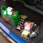 Mini voller Kofferraum