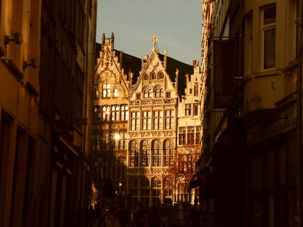 Goldener Grote Markt in Antwerpen