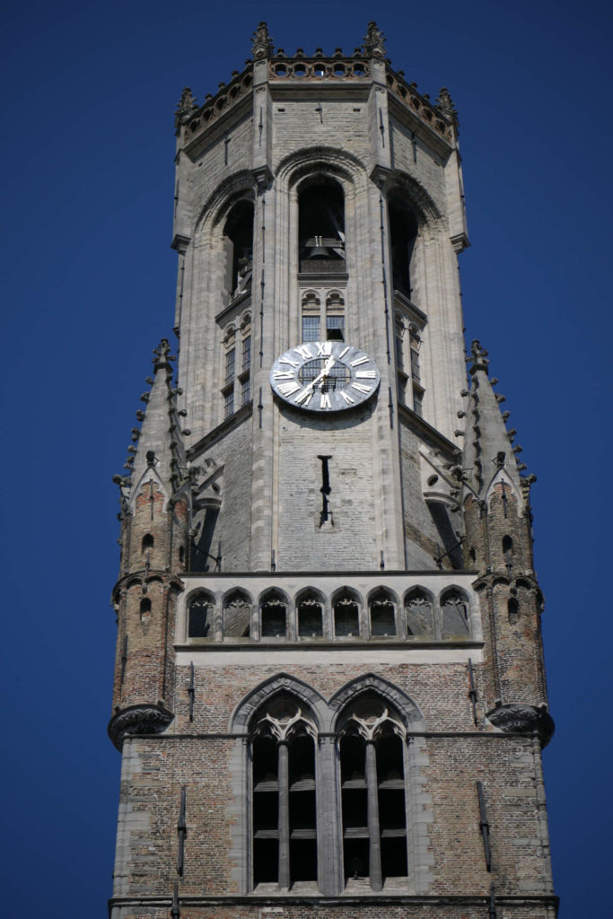 Belfort von Brügge. Glockenturm.