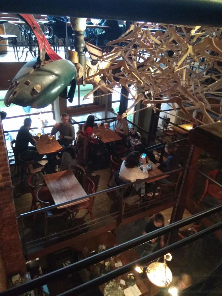 Das dreistöckige Jazzlokal De Muze.