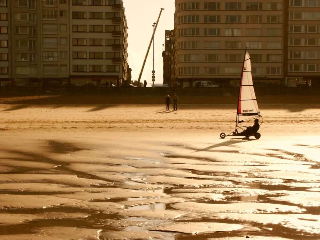 Ostende Windsurfer