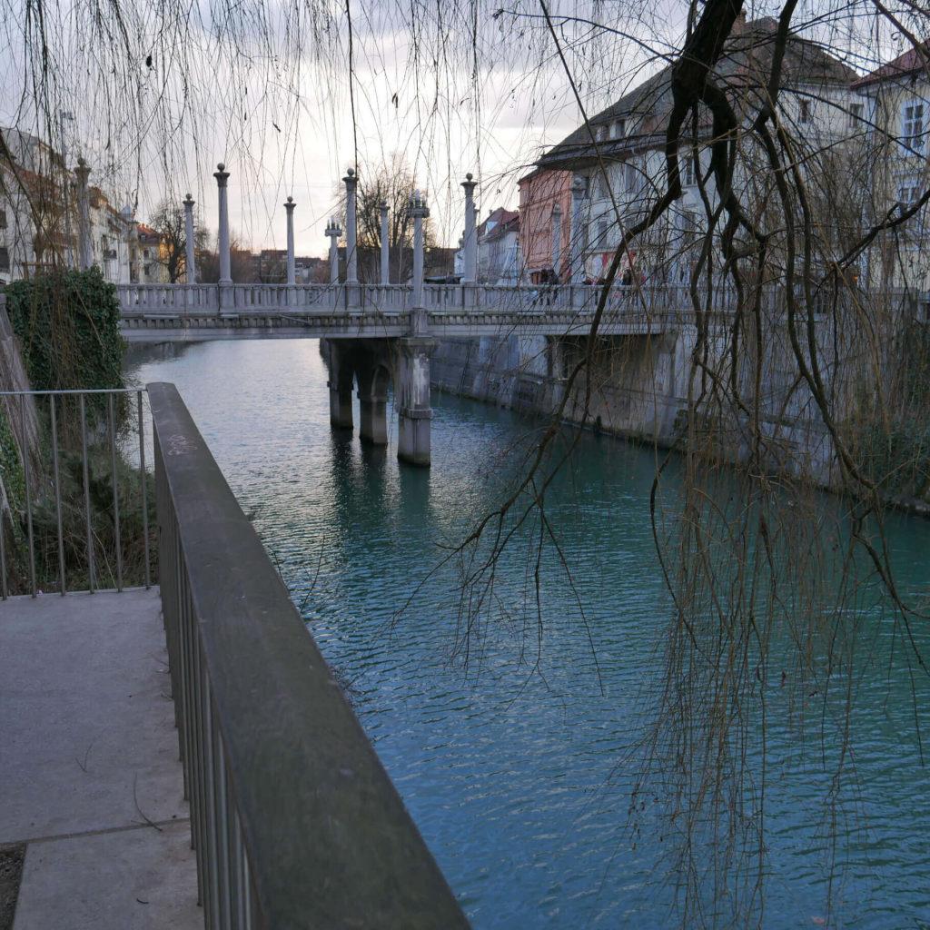 Fluss Ljubljanica