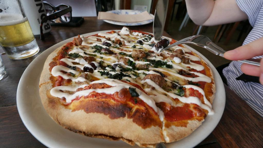 Pizza Lamm Köfte